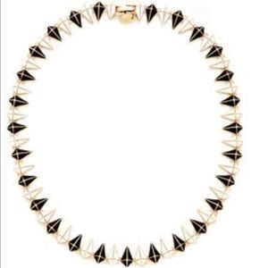 Noir spike necklace created for L.A.M.B